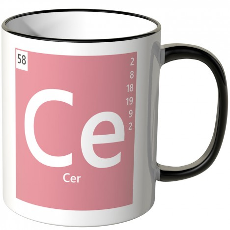 "JUNIWORDS Tasse Element Cer ""Ce"""