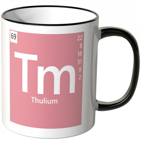 Thulium Element Tasse