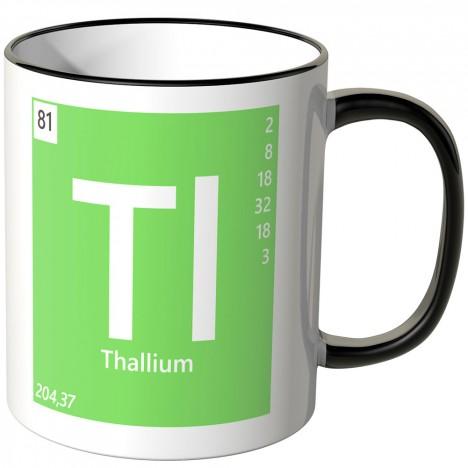 """JUNIWORDS Tasse Element Thallium """"Ti"""""""