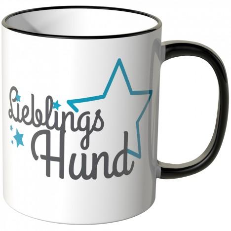 JUNIWORDS Tasse Lieblingshund mit Stern