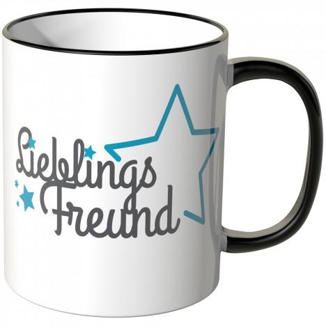 JUNIWORDS Tasse Lieblingsfreund mit Stern