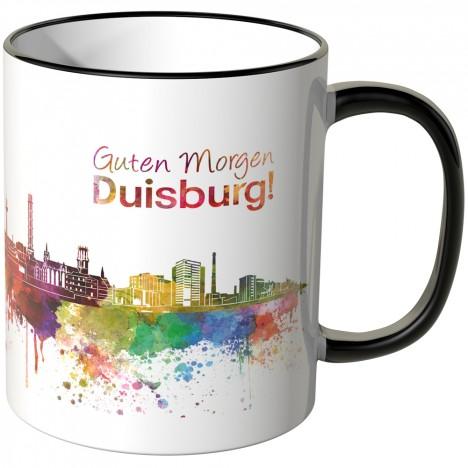 """JUNIWORDS Tasse """"Guten Morgen Duisburg!"""""""