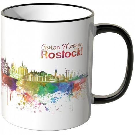 "JUNIWORDS Tasse ""Guten Morgen Rostock!"""