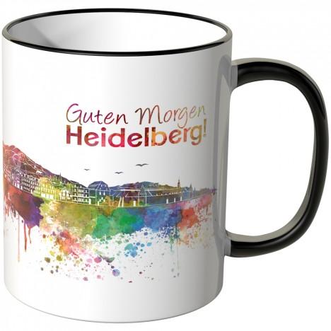 """JUNIWORDS Tasse """"Guten Morgen Heidelberg!"""""""