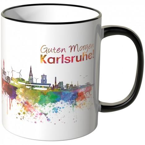 "JUNIWORDS Tasse ""Guten Morgen Karlsruhe"""