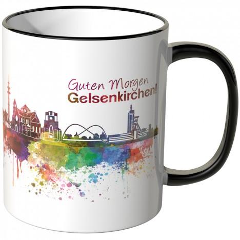"JUNIWORDS Tasse ""Guten Morgen Gelsenkirchen!"""