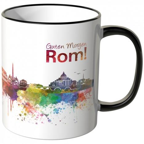 """JUNIWORDS Tasse """"Guten Morgen Rom!"""""""