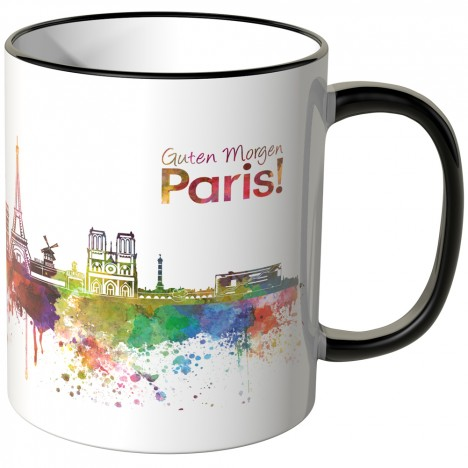 "JUNIWORDS Tasse ""Guten Morgen Paris!"""