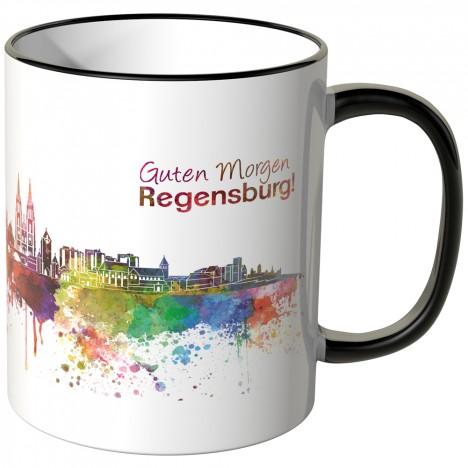 "JUNIWORDS Tasse ""Guten Morgen Regensburg!"""