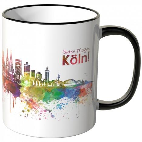 """JUNIWORDS Tasse """"Guten Morgen Köln!"""""""