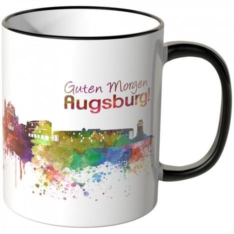 """JUNIWORDS Tasse """"Guten Morgen Augsburg!"""""""