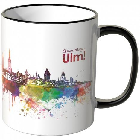 """JUNIWORDS Tasse """"Guten Morgen Ulm!"""""""