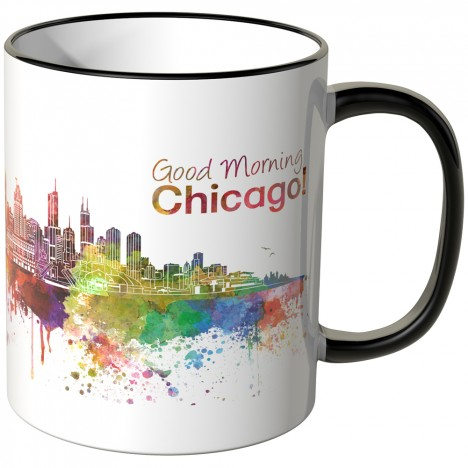 "JUNIWORDS Tasse ""Good Morning Chicago!"""