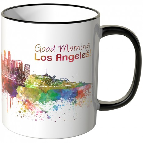 "JUNIWORDS Tasse ""Good Morning Los Angeles!"""
