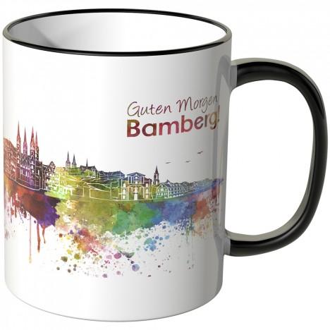 """JUNIWORDS Tasse """"Guten Morgen Bamberg!"""""""