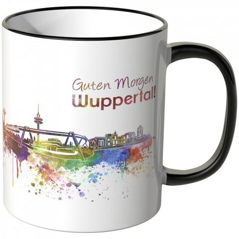 "JUNIWORDS Tasse ""Guten Morgen Wuppertal!"""