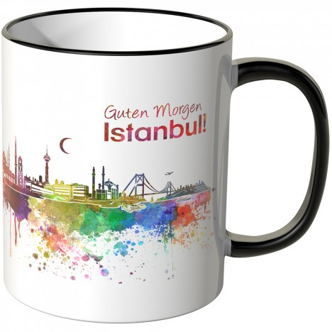"JUNIWORDS Tasse ""Guten Morgen Istanbul!"""