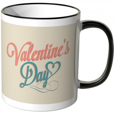 valentines day tasse