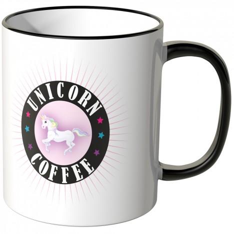JUNIWORDS Tasse Unicorn Coffee
