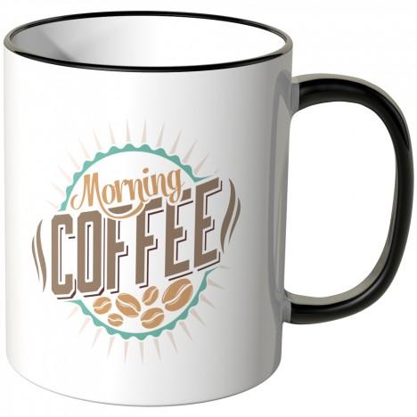 JUNIWORDS Tasse Morning Coffee