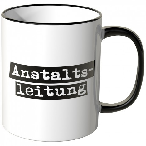 JUNIWORDS Tasse Anstaltsleitung
