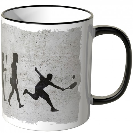 JUNIWORDS Tasse Evolution Tennis