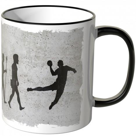 JUNIWORDS Tasse Evolution Handball