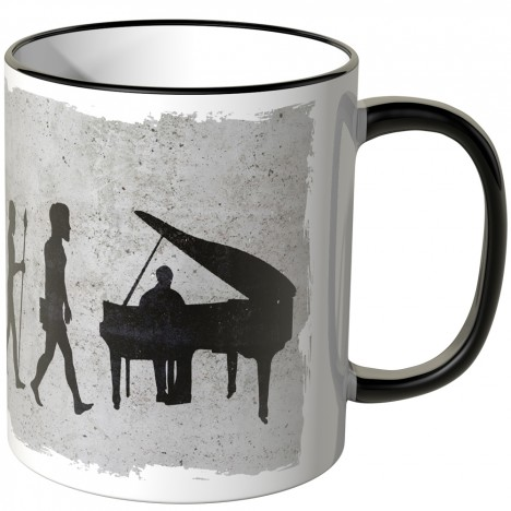 JUNIWORDS Tasse Evolution Piano
