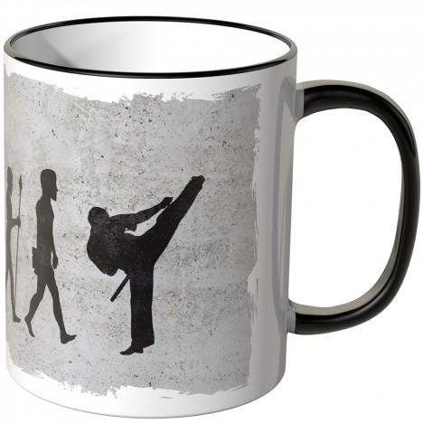 JUNIWORDS Tasse Evolution Karate