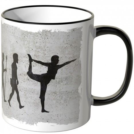 JUNIWORDS Tasse Evolution Yoga
