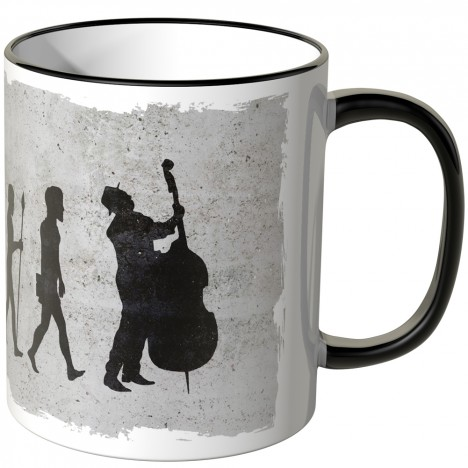JUNIWORDS Tasse Evolution Cellist