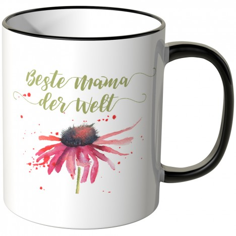 beste mama der welt gerbera tasse