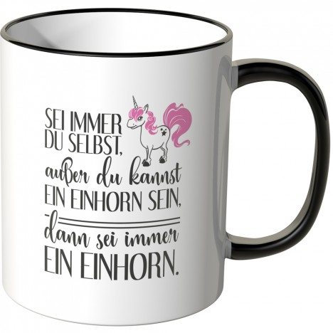 JUNIWORDS Tasse Sei immer du selbst...- Motiv 5