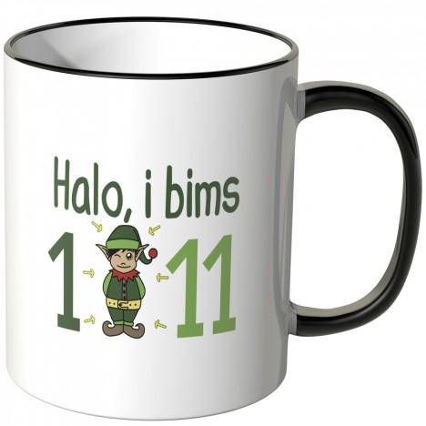 halo i bims 1 11 tasse geschenk elf i bims