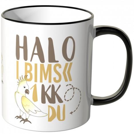 JUNIWORDS Tasse Halo I bims 1 KK DU