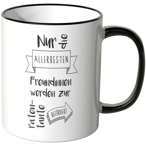 JUNIWORDS Tasse zur Patentante befördert