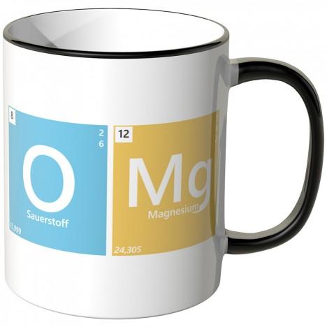 JUNIWORDS Tasse Periodensystem OMG