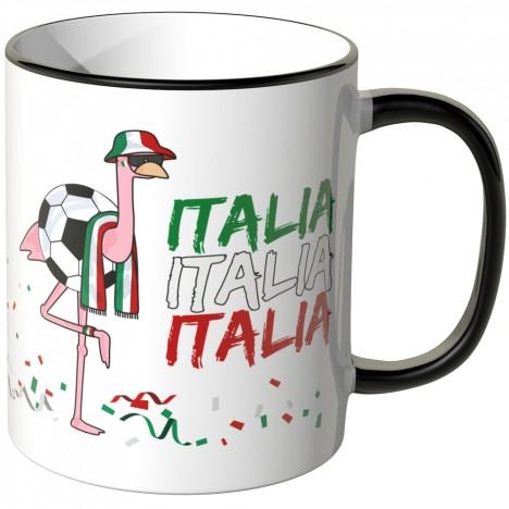 JUNIWORDS Tasse Italien Flamingo
