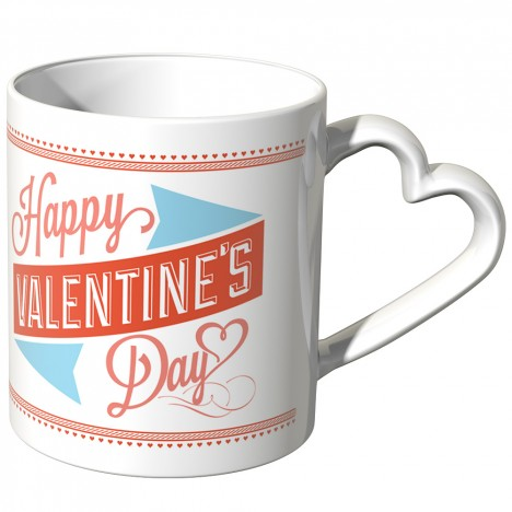 JUNIWORDS Herz Tasse My favorite person 4 ever - Happy valentines day