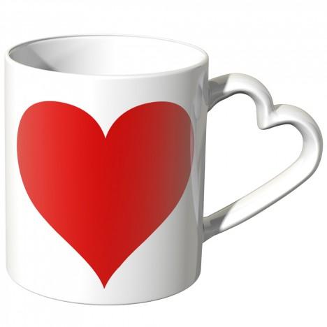 JUNIWORDS Herz Tasse Großes Herz