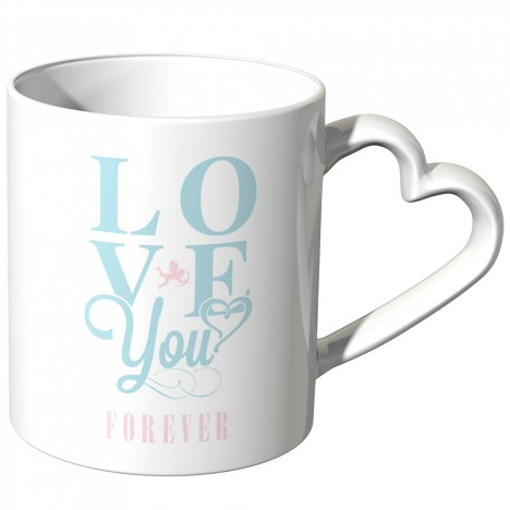JUNIWORDS Herz Tasse Love you forever