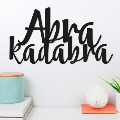 Wandwort Abra kadabra