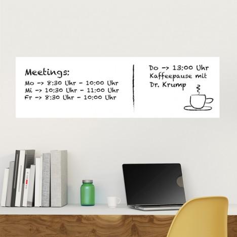 Whiteboard - 100 x 30 cm