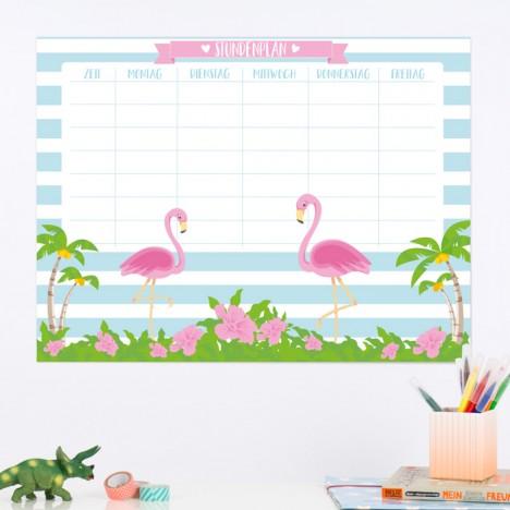 Stundenplan Flamingos