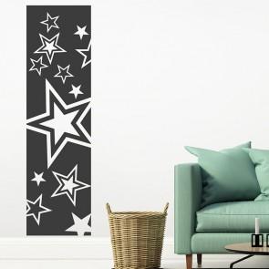 Wandtattoo Wandbanner Sterne