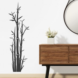 Bambus Wandtattoo Wandsticker