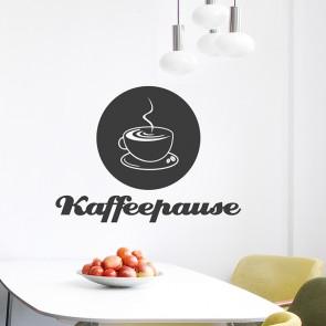 Kaffeepause Wandtattoo
