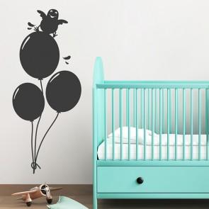 Luftballons Wandtattoo