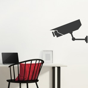 Wandtattoo Überwachungskamera