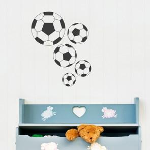 Fußball Wandtattoo